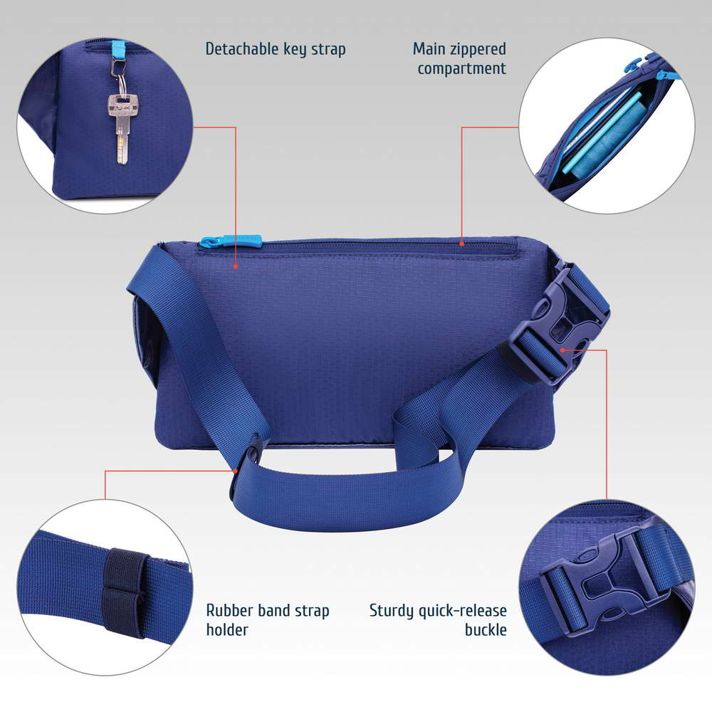 5311 blue Waist bag for mobile devices