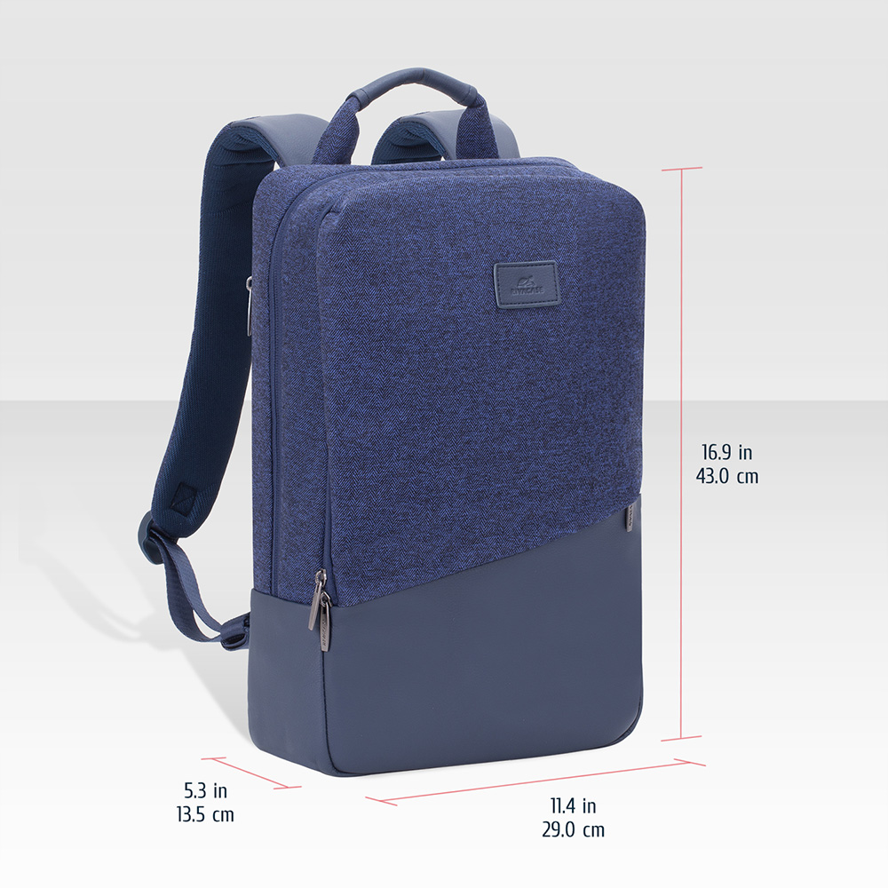 7960 blue MacBook Pro and Ultrabook backpack 15.6