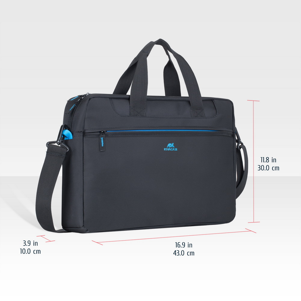 8057 black Laptop bag 16
