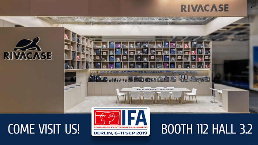 RIVACASE will take part in IFA 2019