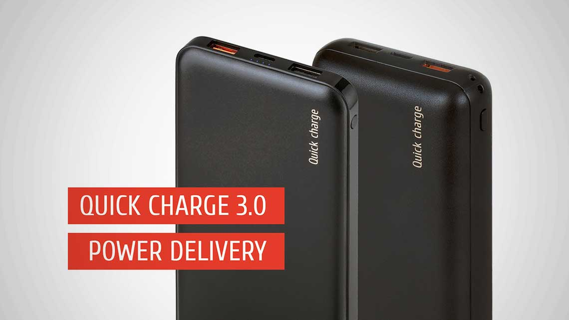 RIVACASE VA2537 & VA2574 – quick charge on-the-go