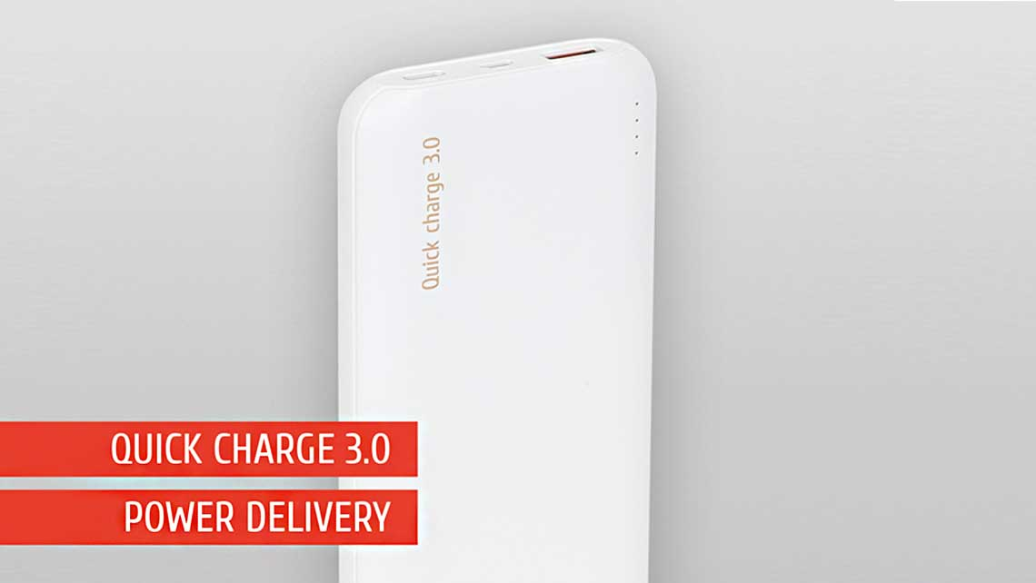 RIVACASE VA2530 – basic & affordable quick charge