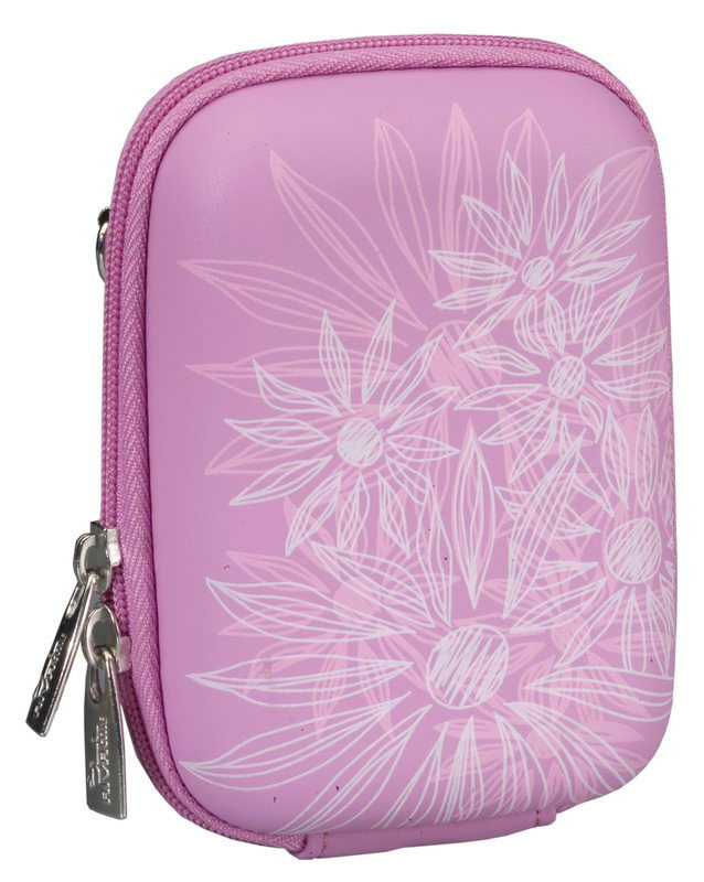 7023 (PU) Digital Case pink (flowers)