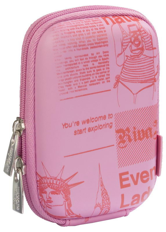 7023 (PU) Digital Case pink (newspaper)