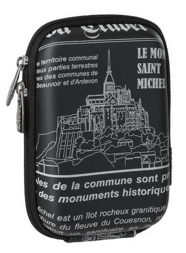 7103 (PU) Digital Case black Saint Michel (travel)