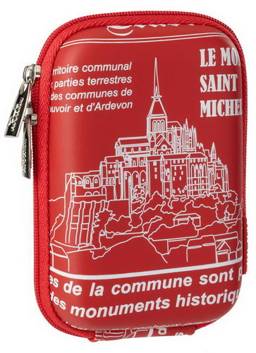 7103 (PU) Digital Case red Saint Michel (travel)