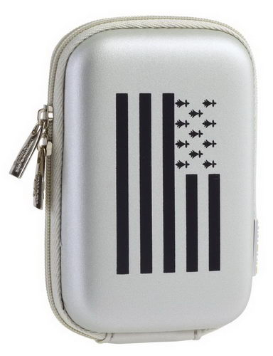 7103 (PU) Digital Case silver Bretagne (travel)