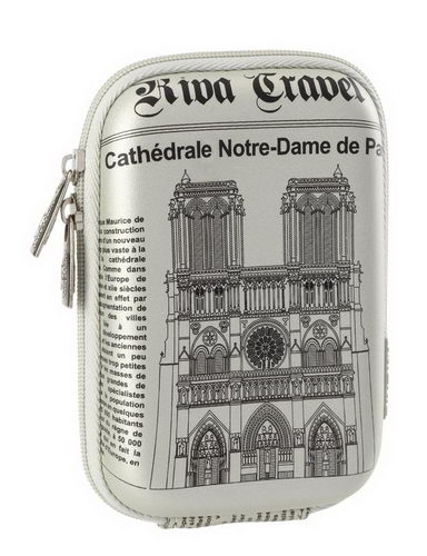 7103 (PU) Digital Case silver Notre Dame (travel)