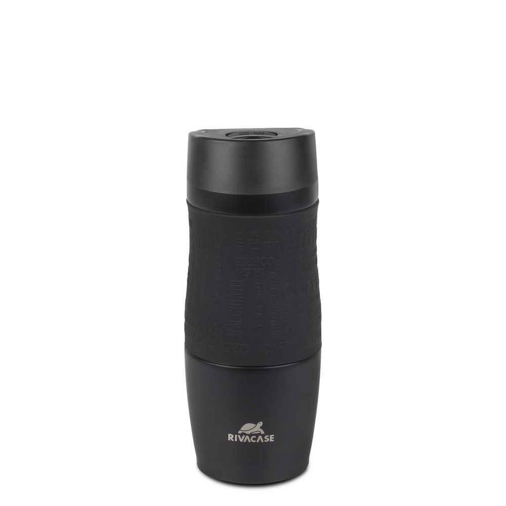 90345BM black matt Vacuum travel mug, 0.38l