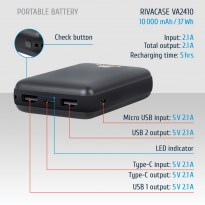 VA2410 (10000mAh) Batterie portable rechargeable