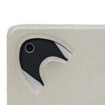 3127 black/white double-sided tablet cover  10.1