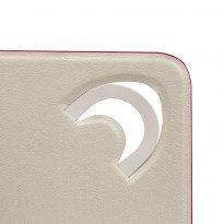 3127 white/red double-sided tablet cover  10.1