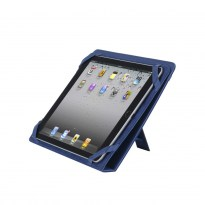 3217 blue kick-stand tablet folio 10.1""