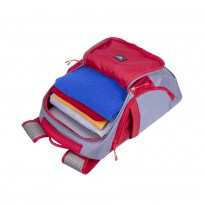 5225 grey/red 20L Laptop backpack 15.6