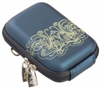 7022 (PU) Digital Case dark blue (moire)