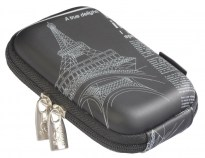 7023 (PU) Digital Case black (newspaper)