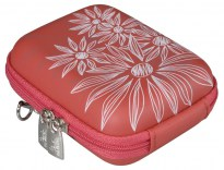 7023 (PU) Digital Case red (flowers)