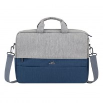 7532 grey/dark blue anti-theft Laptop bag 15.6''