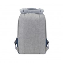 7562 grey/dark blue anti-theft Laptop backpack 15.6''