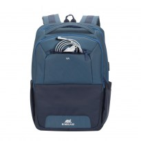 7767 steel blue/aquamarine Laptop backpack 15.6