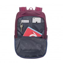 7767 claret violet/purple Laptop backpack 15.6
