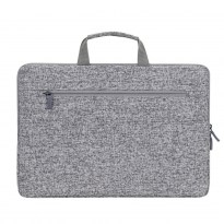 7915 light grey Laptop sleeve 15.6