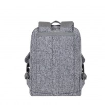 7923 light grey Laptop backpack 13.3