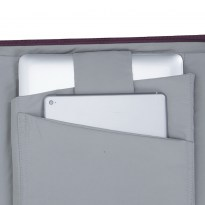 7991 grey MacBook Pro and Ultrabook tote bag 13.3