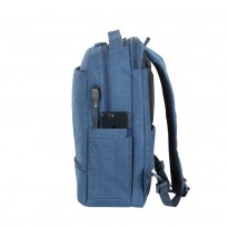 8365 blue carry-on Laptop backpack 17.3