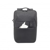 8861 black mélange MacBook Pro and Ultrabook backpack 15.6